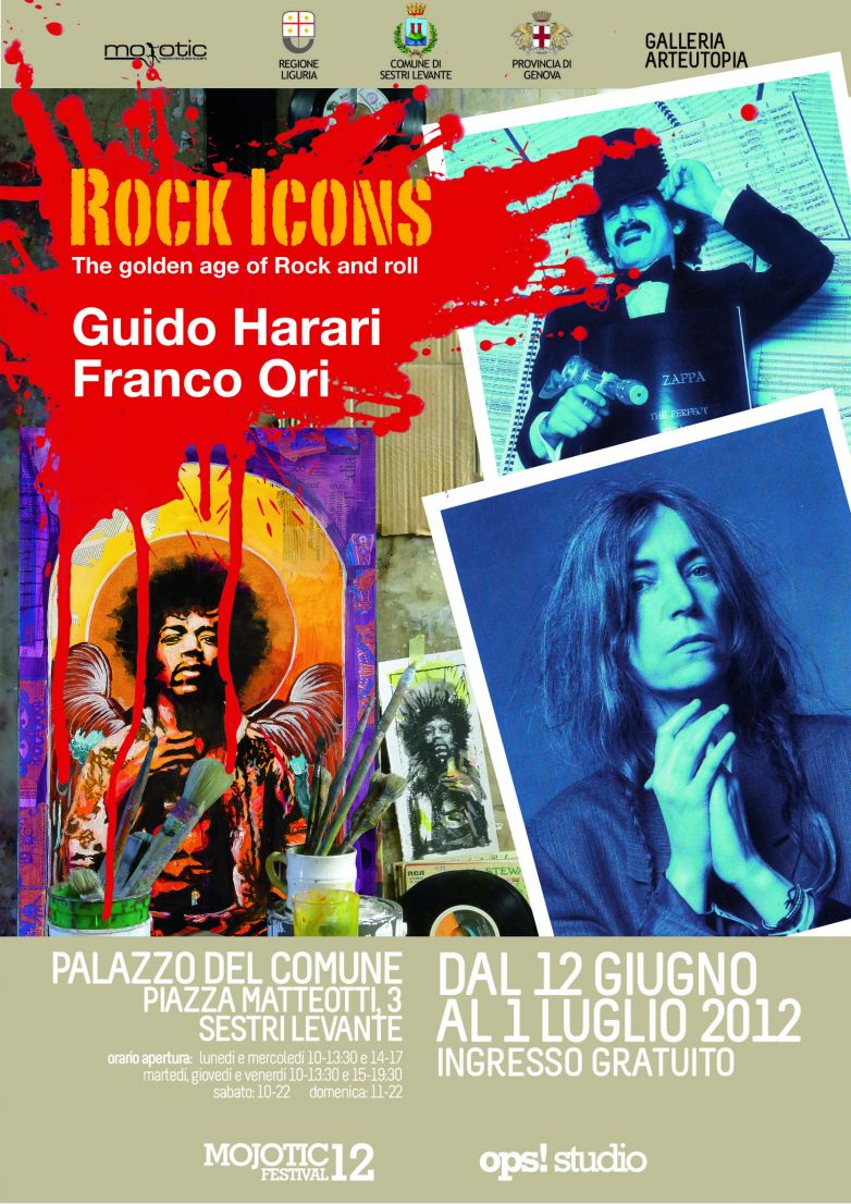 Rock Icons - The golden age of rock and roll